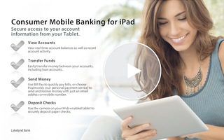 Video - Consumer Mobile Banking ipad Video