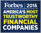Forbes 2016 - America's Most Trustworthy Financial Companies