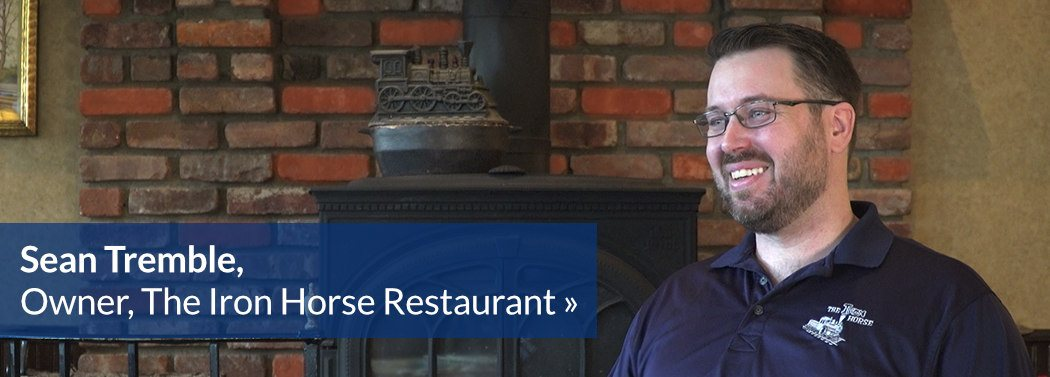 Sean Tremble, Owner, The Iron Horse Restaurant