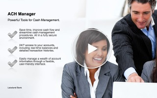 Video - ACH Manager