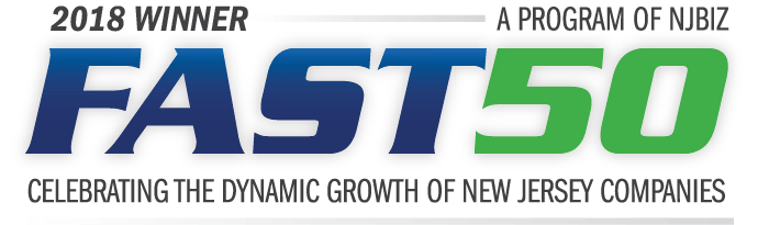 2018 winner - a program of njbiz - fast50 - celebrating the dynamic growth of new jersey companies